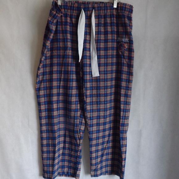 Concepts Sport Pants - Womens CONCEPTS Sleep Pants - Orange/Blue BSU - 2X